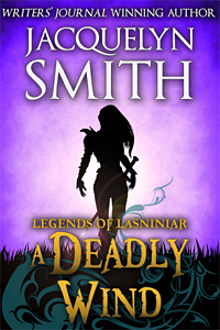 Legends of Lasniniar A Deadly Wind cover