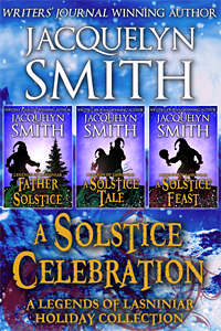 A Solstice Celebration Legends of Lasniniar Holiday Colleciton cover