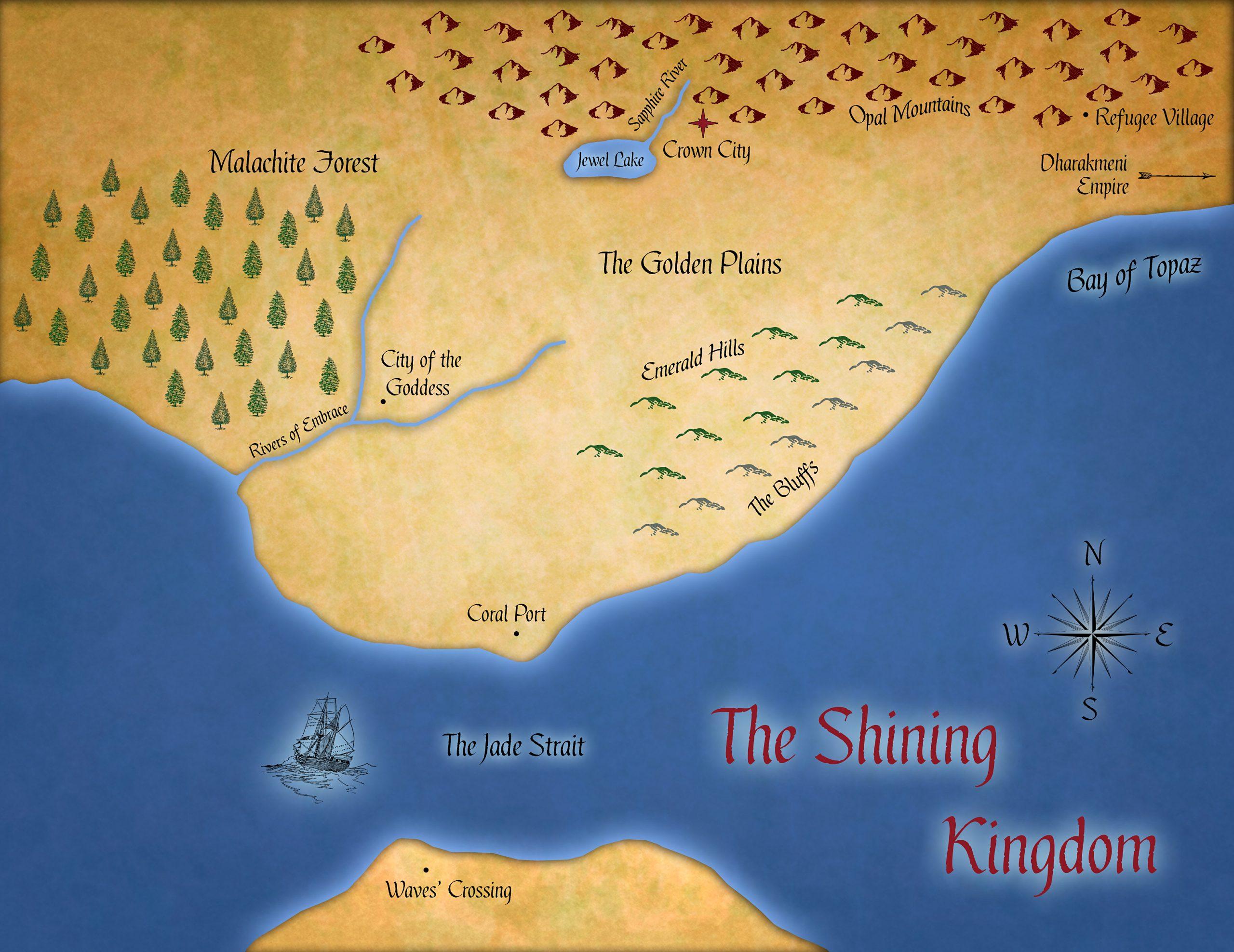 Shining Kingdom Map