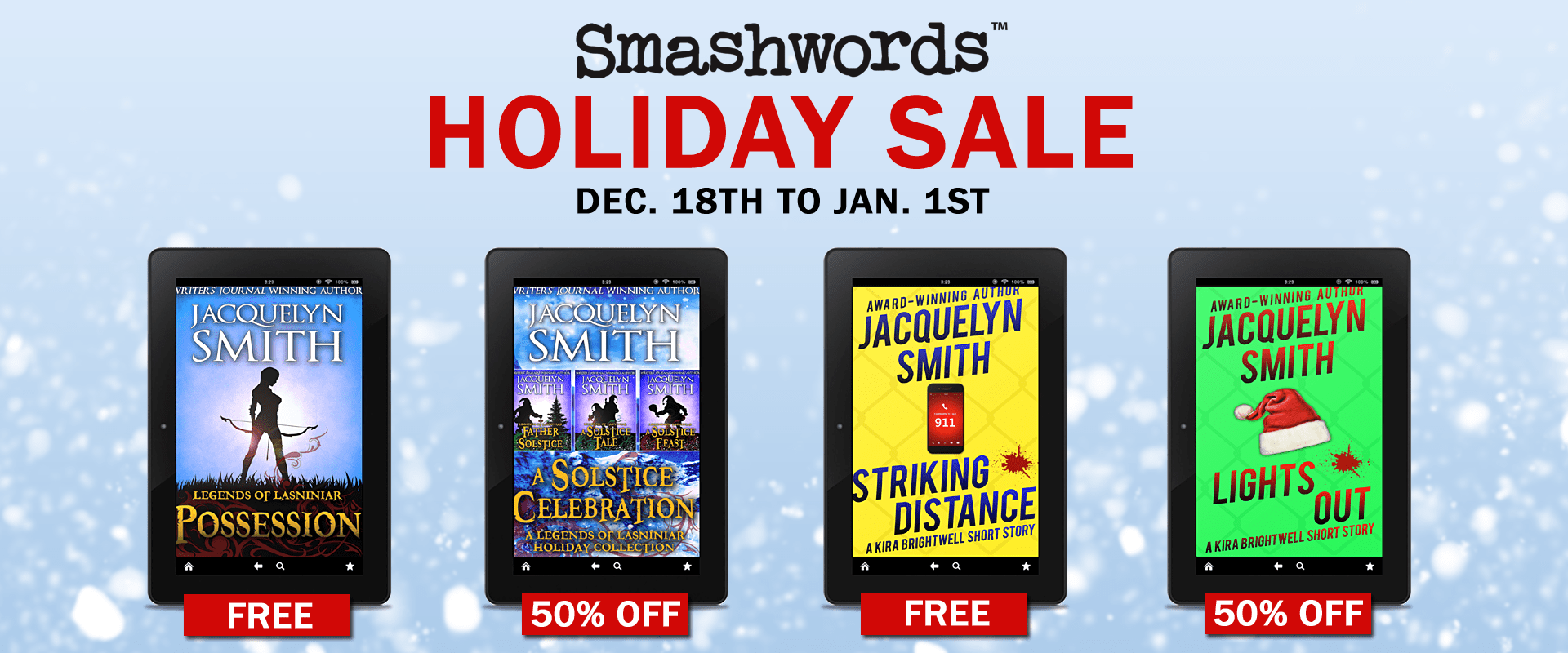 Ebook Holiday Sale: 2020 Edition